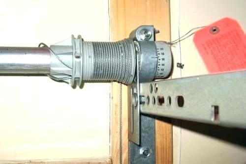 garage door springs adjustments